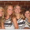 Idaho Vandals Cheerleader