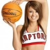 HOT Toronto Raptors Cheerleader