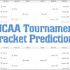 2014 NCAA Tournament Bracket Predictions