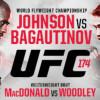 UFC 174 Picks