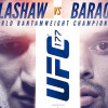 UFC 177 Dillashaw vs. Barao II Betting Odds