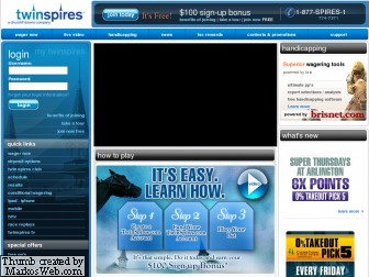 Twin Spires Screenshot