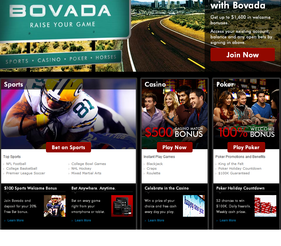 Bovada ScreenShot