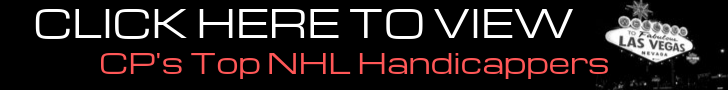 NHL Handicappers at Cappers Picks